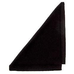 Black Microfiber Cleaning Cloth, #ACC-850BLK