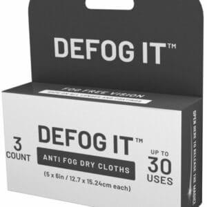 DEFOG anti fog wipes