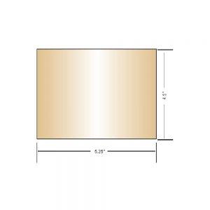 Large AlloWeld Gold Coated Lens
