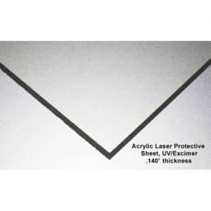 UV/Excimer Laser Acrylic Sheet