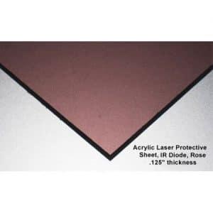 IR Diode Acrylic laser sheet