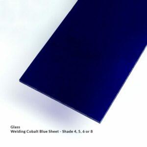 Cobalt Blue Welding Sheeting