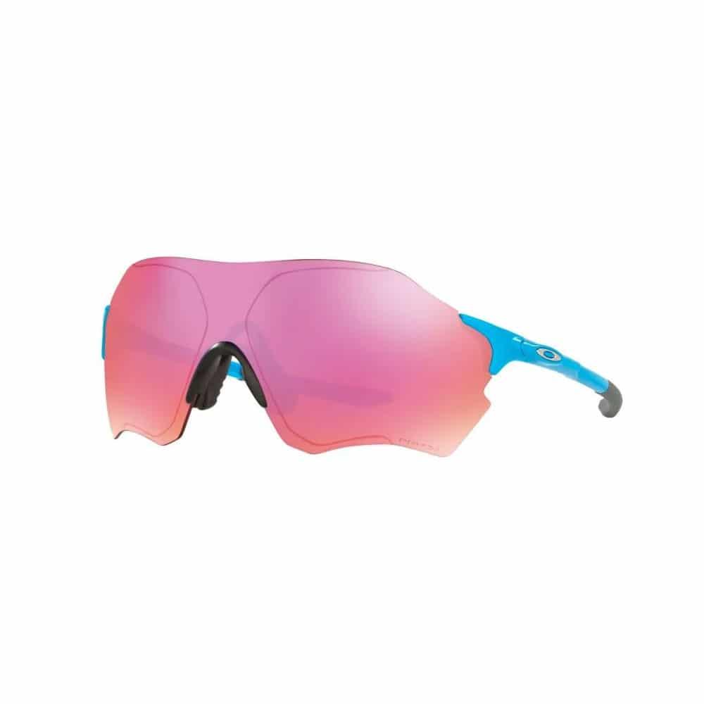 Oakley EVZero-Range in matte-Blue with Prizm Trail Lens